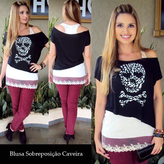 blusa caveira 7
