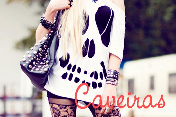 moda-caveira-caveirinhas-rock-emo-fashion-garota-teen-roupa-looks-caveira