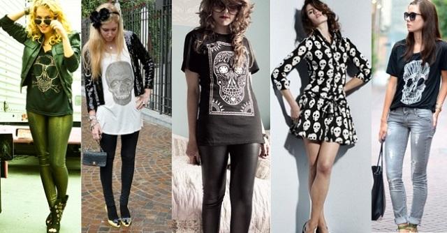 Modelos-com-roupas-de-caveira