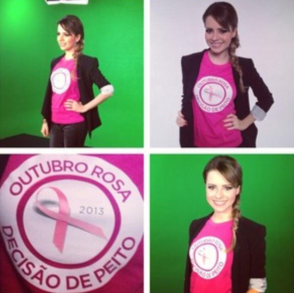 Sandy Outubro Rosa 2013 Campanha  (2)