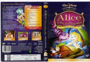 Alice no Pais das Maravilhas_Alice In Wonderland capa